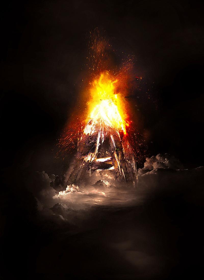 volcano-text-flattened