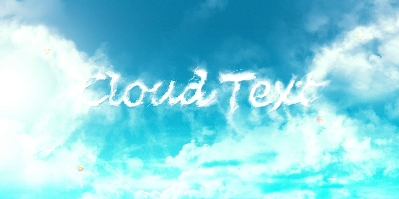 cloud-text-flatten