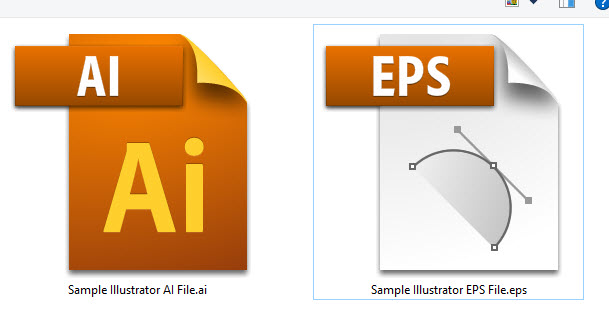 Photoshop quick tips how to open view illustrator file in i used an eps file as an example for demo purpose ccuart Choice Image